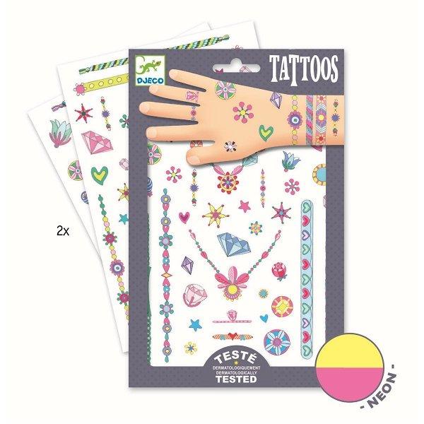 Djeco Tattoos Jenny`s Jewels