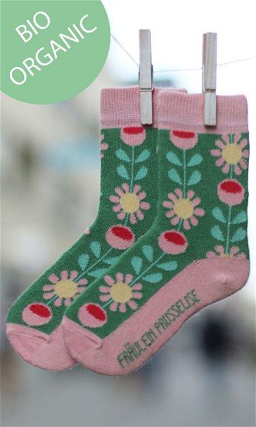 Fräulein Prusselise Bio Socken Flower