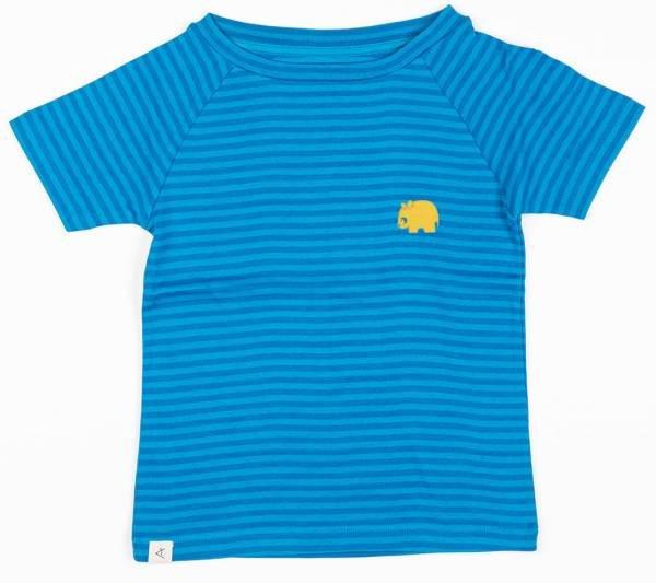 Albababy Sigurd T-Shirt Methyl Blue Magic Stripes