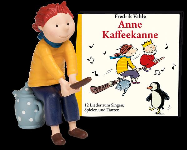 Tonies Anne Kaffeekanne - 12 Lieder zum Singen, Spielen und Tanzen