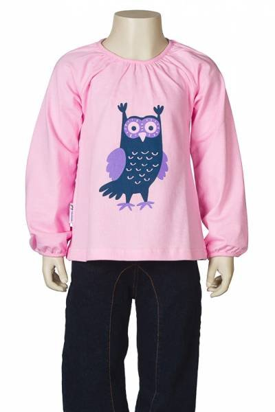 JNY colourful kids Puffy Shirt Owl