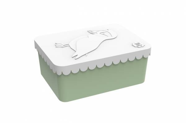 Blafre Lunchbox Puffin White Green