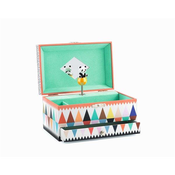 Djeco Music Box The Panda`s Song