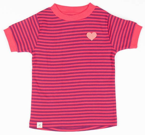 Albababy Bella T-Shirt Raspberry Magic Stripes
