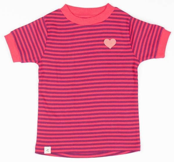 Albababy Bella T-Shirt Raspberry Magic Stripes