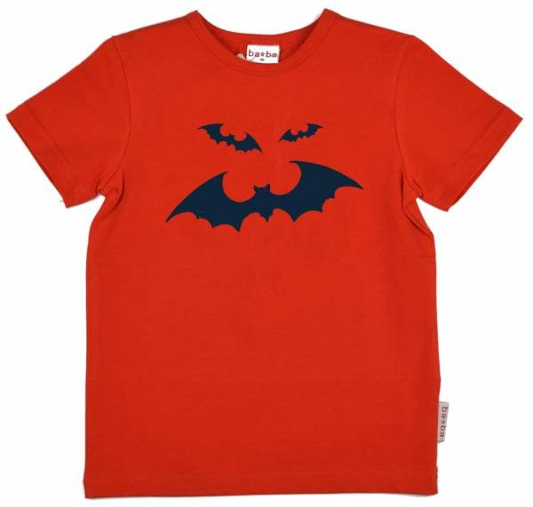 Baba Babywear T-Shirt Bat Red