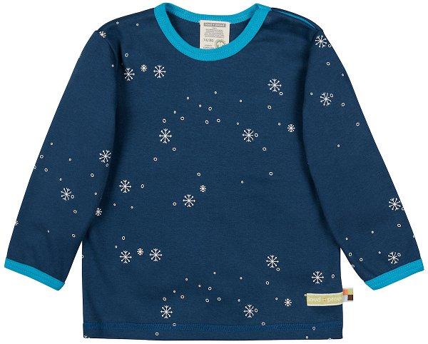 Loud + Proud Shirt LS Ultramarine Schneeflocken Print