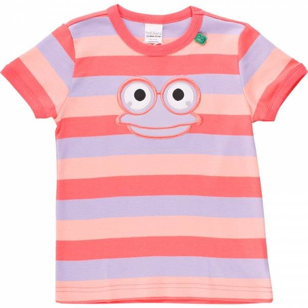 Fred`s World by Green Cotton Hello Fred T-Shirt, Coral