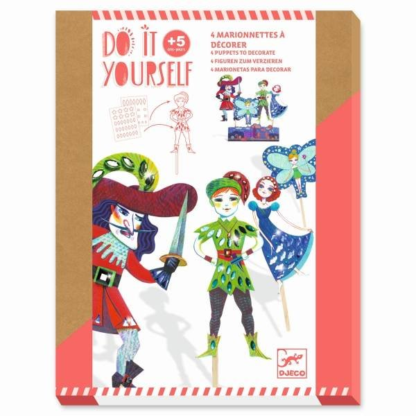 Djeco DIY - Marionetten - Peter Pan