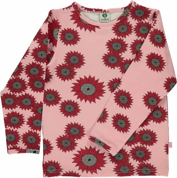 Smafolk T-Shirt LS Sunflower Silver Pink