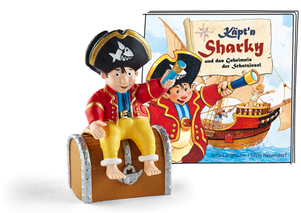Tonies Käpt`n Sharky - Das Geheimnis der Schatzinsel