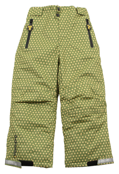Ducksday Skihose / Schneehose Lined Winterpants Funky Green