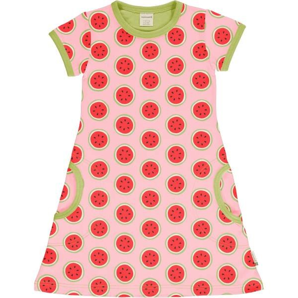 Maxomorra Dress SS Watermelon