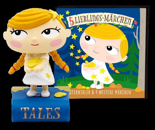 Tonies 5 Lieblings-Märchen Sterntaler und 4 weitere Märchen