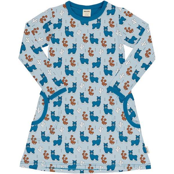 Meyadey by Maxomorra Dress LS Alpaca Friends
