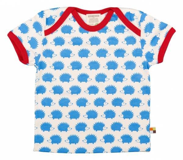 Loud + Proud T-Shirt Hedgehog Sky