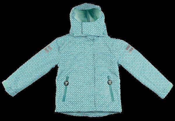 Ducksday Winter / 4 Jahreszeiten Jacke Detachable Fleece Jacket Karo Sherpa