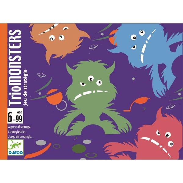 Djeco Kartenspiel Trio Monsters