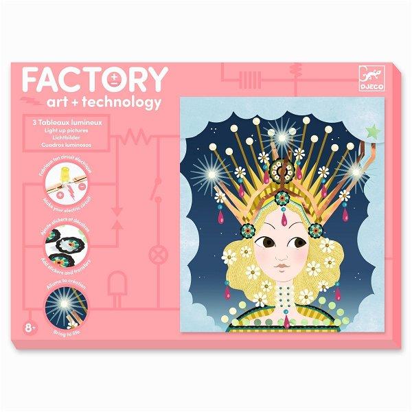 Djeco Factory - Bilder zum Beleuchten - Kronen