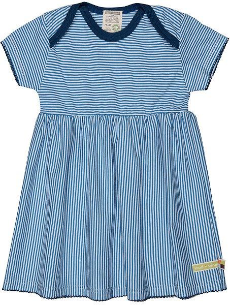 Loud + Proud Kleid Streifen, Cobalt