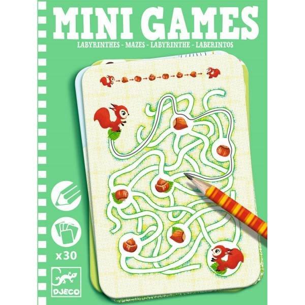 Djeco Mini Spiel Mazes By Ariane