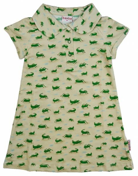Baba Babywear Polo Dress Grasshopper