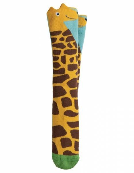 Frugi Safari Character Socks Bumble Bee / Giraffe