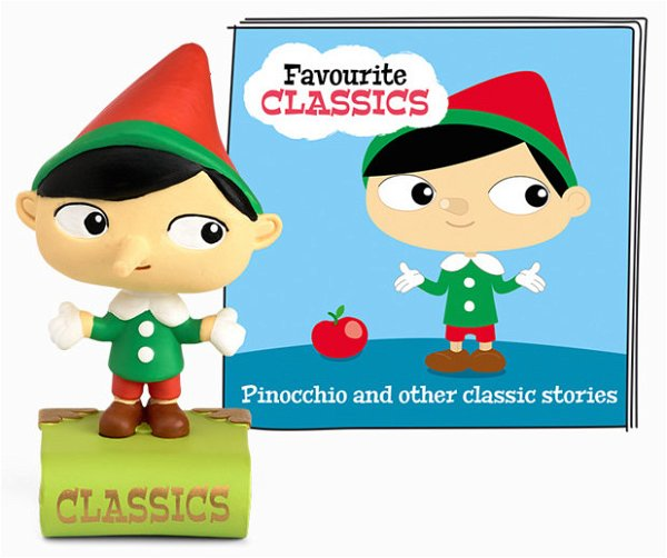 Tonies Favourite Classics - Pinocchio And Other Classic Stories (Englische Version)