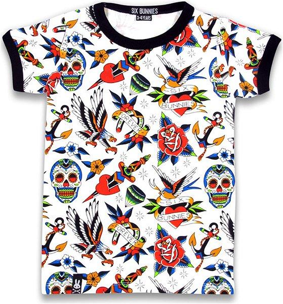 Six Bunnies T-Shirt Tattoo Shoppe