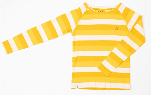 Albababy Everyday Long Tee Daffodil Stripes