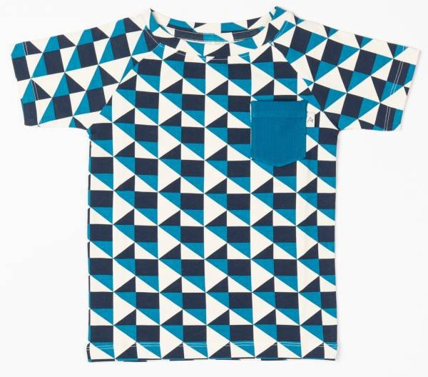 Albababy Sigurd T-Shirt Seaport Its all about Squares