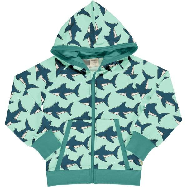 Maxomorra Cardigan Hood Shark