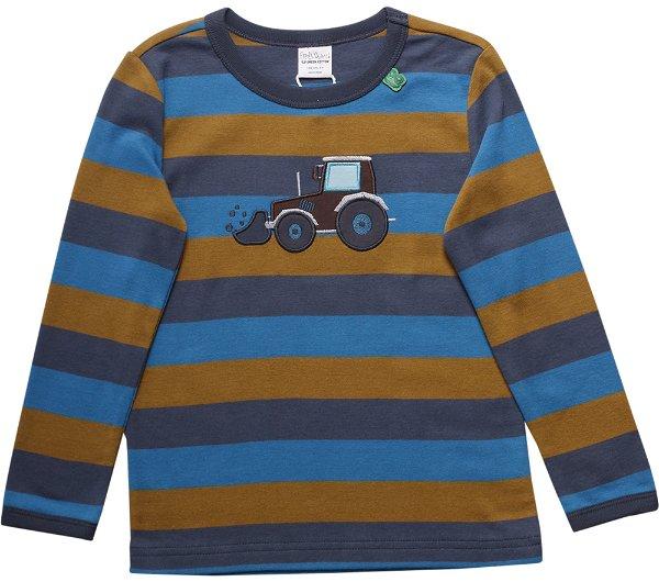 Fred`s World Crane Stripe T-Shirt Midnight
