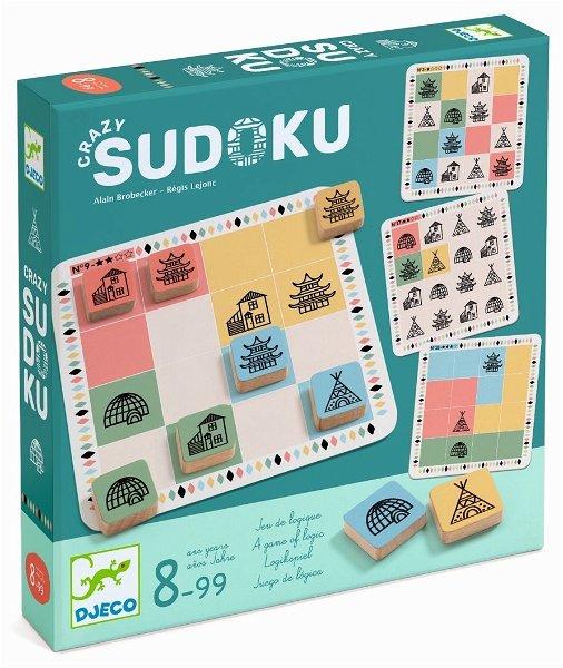 Djeco Spiel Crazy Sudoku