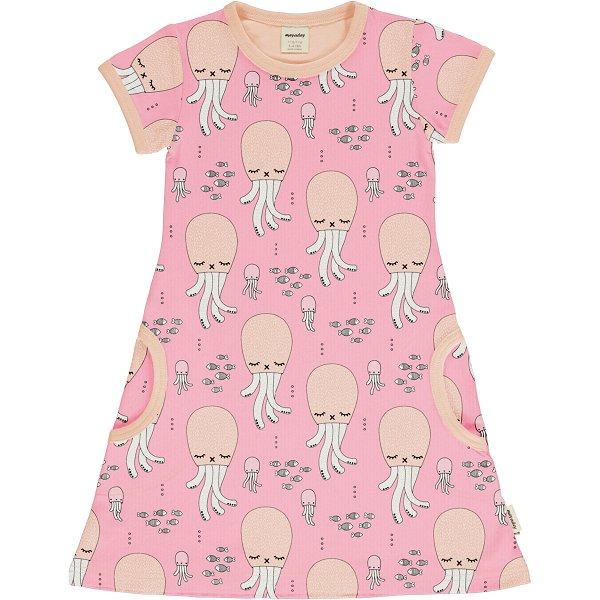 Meyadey by Maxomorra Dress SS Cute Squid
