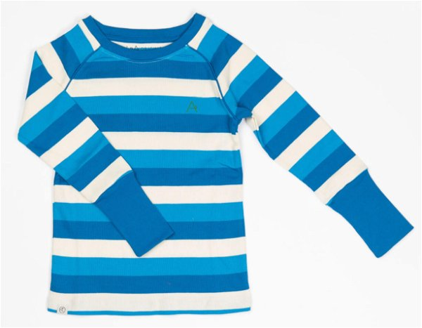 Albababy Our Favorite Rib Blouse Snorkle Blue Stripes