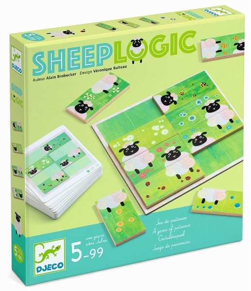 Djeco Knobelspiel Sheep Logics