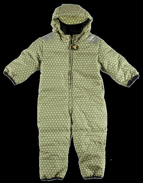 Ducksday Schneeanzug Snowsuit Baby Funky Green