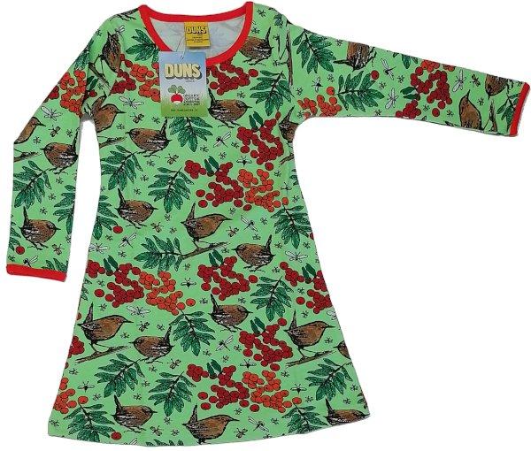 DUNS Rowanberry Green LS Dress Basic