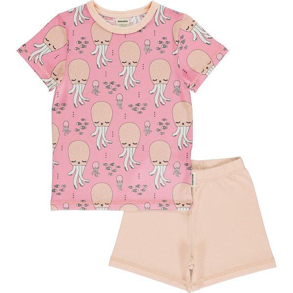 Meyadey by Maxomorra Pyjama Set SS Cute Squid