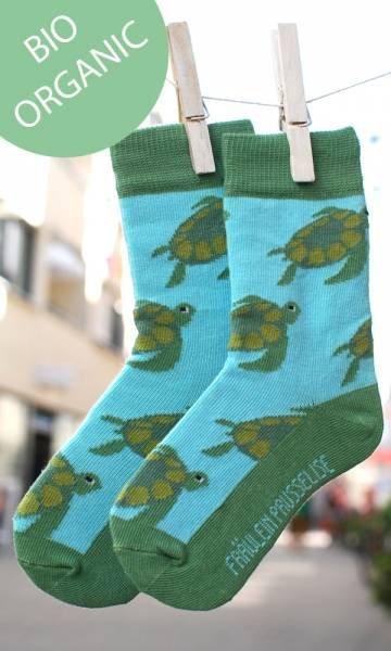 Fräulein Prusselise Bio Socken Schildkröte
