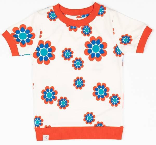 Albababy Vesta T-Shirt Antique White Flower Power Love