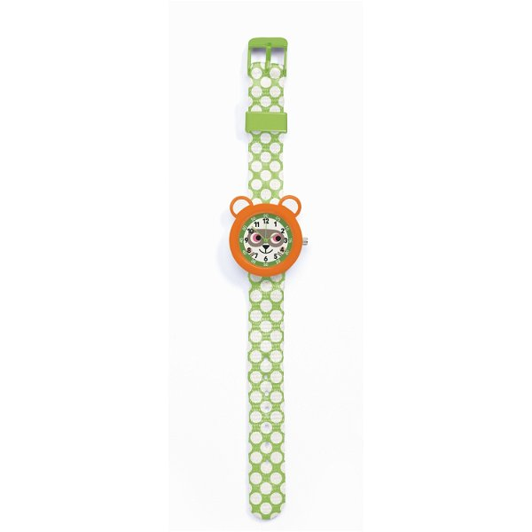 Djeco Armbanduhr Waschbär