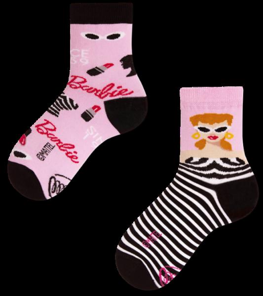 Many Mornings Barbie Socks