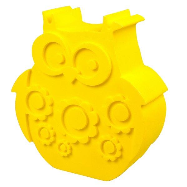Blafre Lunchbox Owl Yellow