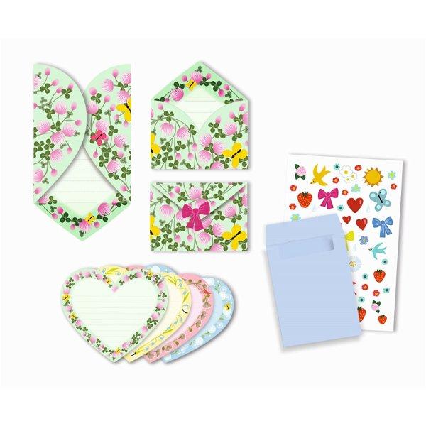 Djeco Geburtstag Einladungskarten Hearts