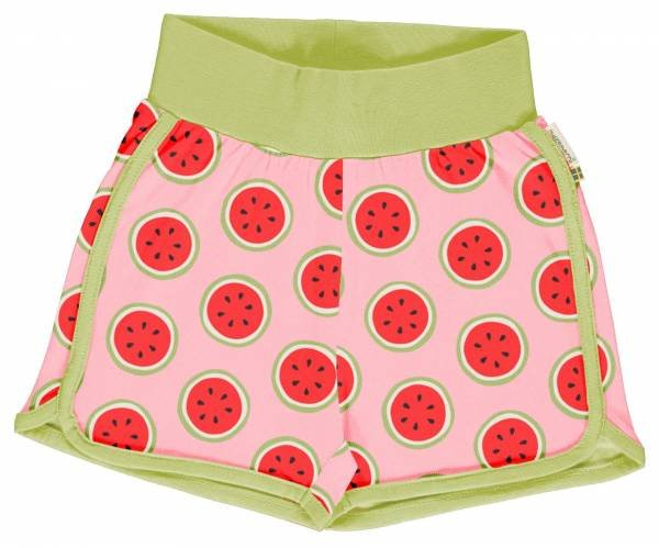 Maxomorra Runner Shorts Watermelon