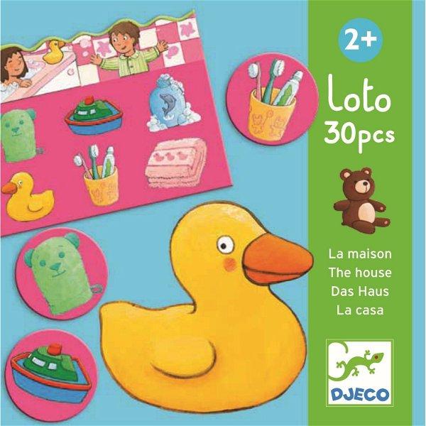 Djeco Lernspiel Lotto Im Haus