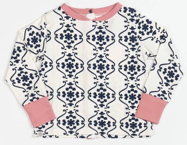 Albababy Fiona Tunic Blueprint Nostalgic Flower Tiles