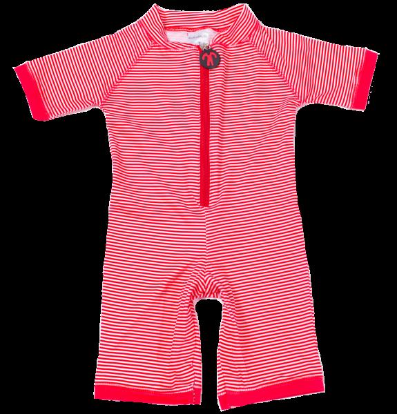 Ducksday UV Schwimmanzug Lycrasuit Red Stripe